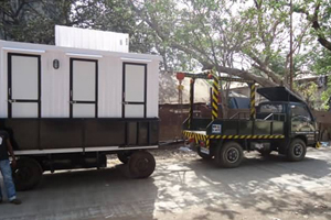 mobile toilet Srinagar